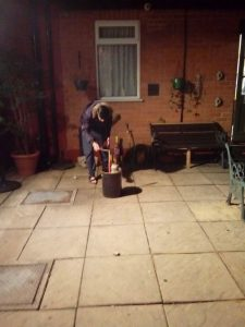 Bonfire night residential care home leicester
