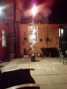 bonfire night care home Uk