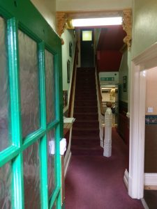 elliott care home leicester entrance door